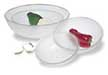 Round Polycarbonate Pebbled Bowls