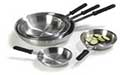 Traditional Aluminum Fry Pans