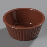 Carlisle 084528 Fluted Ramekin 4.5 oz - Lennox Brown