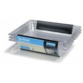 "Carlisle 10220-807 TopNotch Food Pan Banded Packs 2-1/2"" (3.6 qt) (3/st) - Clear"