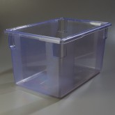 "Carlisle 10624C14 StorPlus 21.5 Gallon Box 26"" x 18"" x 15"" - Blue"