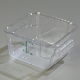 Carlisle 1072007 StorPlus Container 2 qt - Clear