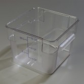 Carlisle 1072407 StorPlus Container 12 qt - Clear