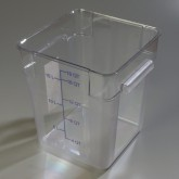 Carlisle 1072507 StorPlus Container 18 qt - Clear
