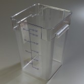 Carlisle 1072607 StorPlus Container 22 qt - Clear