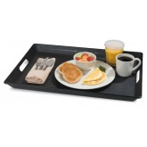 "Carlisle 1089RS152003 Room Service Tray 15.5"" x 20"" - Black"