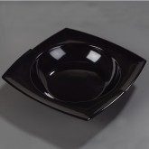 "Carlisle 3331803 Rave Bowl with Rim 14-7/8"" - Black"