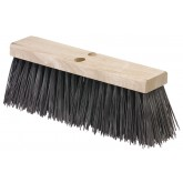"Flo-Pac 3611301601 16"" Heavy Polypropylene Sweep 16"" - Brown"