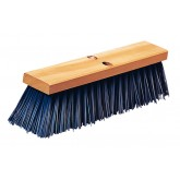 "Flo-Pac 3611401614 Flo-Pac 16"" Heavy Polypropylene Sweep 16"" - Blue"