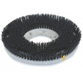 "Flo-Pac 361800G50-5N Colortech Black Stripping Grit Brush 18"" - Black"