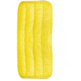 "Flo-Pac 363322404 Microfiber Wet Mop Pad 24"" - Yellow"