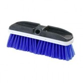 "Flo-Pac 3646814 Flo-Thru Brush with Flagged Nylex Bristles 10"" - Blue"