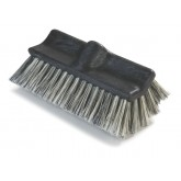Flo-Pac 3649700 Flo-Pac Flo-Thru Dual Surface Brush with Flagged Polystyrene Bristles 10""