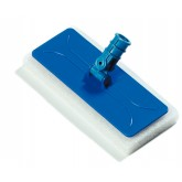 "Flo-Pac 36538014 Flo-Pac Swivel Pad Holder 9-1/4"" - Blue"
