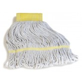 Flo-Pac 369412B00 Flo-Pac Small Yellow Band Mop With Looped-End