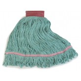 Flo-Pac 369484B09 Flo-Pac Large Red Band Mop With Looped-End - Green