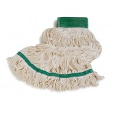 Carlisle 36952002 Loop End Bamboo Silk Mop - White