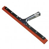 """Carlisle 4007400 Professional Double-Blade Rubber Squeegee With Zinc 14"""""""