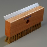 Sparta 4029100 Oven Brush & Scraper w/Brass Wire Bristles (head only) 8-1/2""