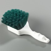 "Flo-Pac 4054109 Sparta Spectrum General Clean Up Brush 8"" Long x 3"" Trim - Green"