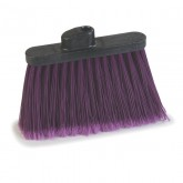 "Flo-Pac 4108268 Sparta Spectrum Duo-Sweep Angle Broom 56"" Long - Purple"