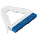 "Sparta 4132314 Spectrum Tile & Grout Brush With Nylon Bristles 8"" - Blue"