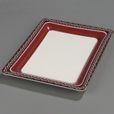 "Carlisle 44403916 Palette Displayware Square Bowl 14"" - Fresco"