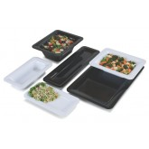 "Carlisle 4442002 Designer Displayware Full Size Food Pan 1"" - White"
