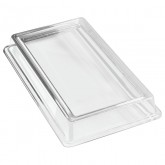 Carlisle 44422C07 Designer Displayware Cover for Full Size Food Pan - Clear