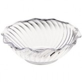 Carlisle 4531-807 Tulip Berry Dish 5 oz - Cash & Carry (12/st) - Clear