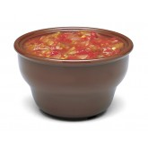 Carlisle 455328 Deep Salsa Bowl 8 oz - Lennox Brown