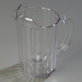 Carlisle 553807 Carlisle Pitcher 48 oz - Clear