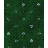 "Marko 57195252SM064 Aster Tablecloth 52"" x 52"" - Forest Green"
