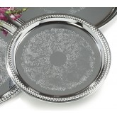 Carlisle 608905 Celebration Round Gadroon Tray 13""