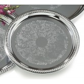 Carlisle 608907 Celebration Round Gadroon Tray 14""