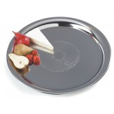 Carlisle 608917 Round Heavyweight Tray 22""