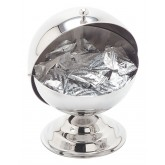 Carlisle 609132 Roll-Top Covered Dish 14 oz - Stainless Steel
