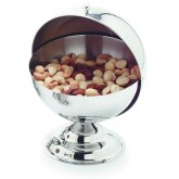 Carlisle 609133 Roll-Top Covered Dish 30 oz - Stainless Steel