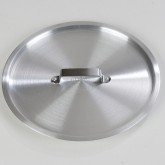 "Carlisle 61707C Cover for 61707 Tapered Sauce Pan 11"" - Aluminum"
