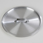 "Carlisle 61710C Cover for 61710 Tapered Sauce Pan 11.75"" - Aluminum"