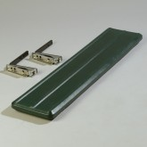 Carlisle 662008 Six Star 4 ft Tray Slide - Forest Green