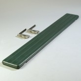 Carlisle 662108 Six Star 6 ft Tray Slide - Forest Green