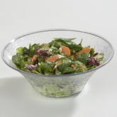 Carlisle 732507 Pebbled Bowl 3.3 qt - Clear
