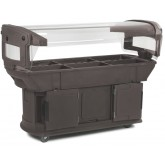 Carlisle 771101 Maximizer Food Bar 6 ft - Brown