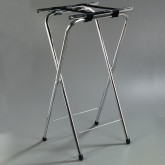 "Carlisle C3625T38 Tall Steel Stand 36"" - Chrome"