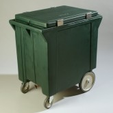 Carlisle IC222008 Cateraide Ice Caddy 200 lb of Ice - Forest Green