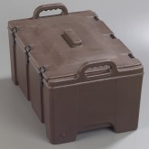 Carlisle PC180N01 Cateraide Combination Pan Carrier - Brown