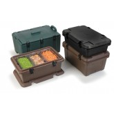 Carlisle PC188N08 Cateraide Single Pan Carrier - Forest Green