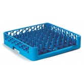 Carlisle ROP14 OptiClean Open End Peg Rack - Carlisle Blue