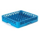 Carlisle RTP14 OptiClean Tall Peg Plate & Tray Rack - Carlisle Blue